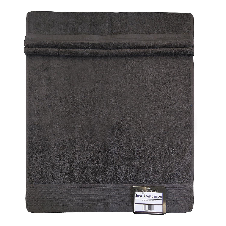 Just Contempo Toalla (Algodón Egipcio, Suave, 600 gsm), Toalla para la Cara 30 x 30 cm, Morado 5055786914824