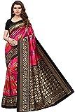 Ishin Silk with Blouse Piece Saree (Ishinsc1003_Pink_Free Size)