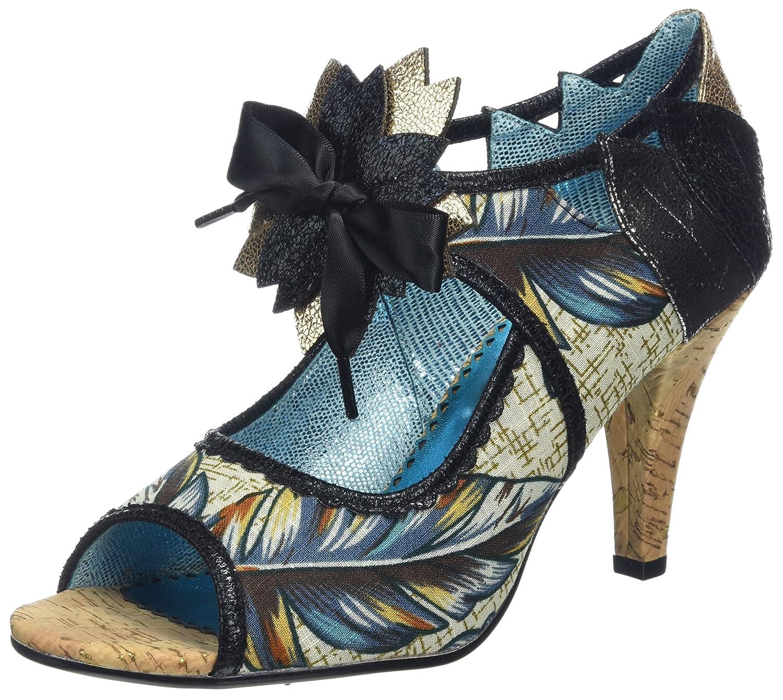 Poetic Licence by Irregular Choice Judy Juniper, Zapatos de tacón con Punta Abierta para Mujer