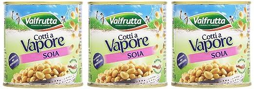 3 opinioni per Valfrutta- Monodose Soia, Sottovuoto- 8 confezioni da 3 pezzi da 150 g [24