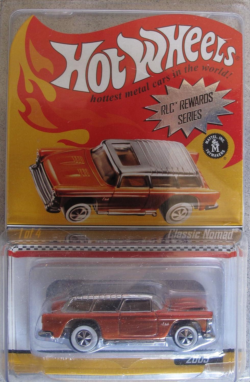 Hot Wheels 2009 RLC Rewards Car Classic Nomad Burnt Oranage ROT Line Club by Hot Wheels