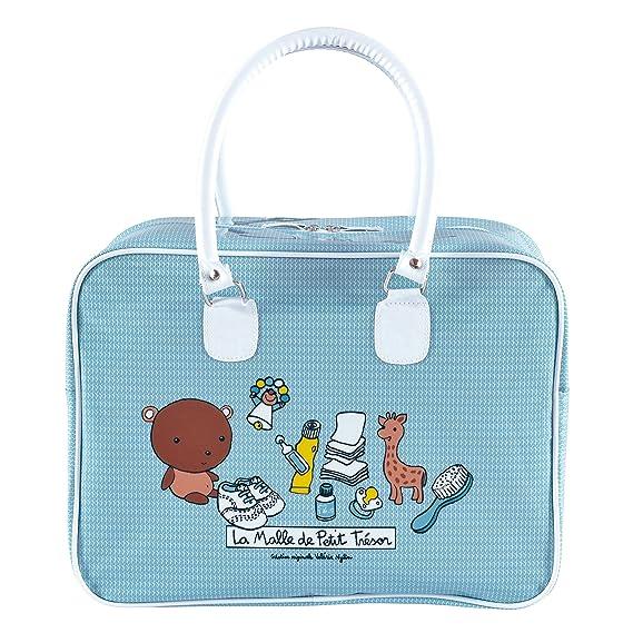de199c22fc Borsa a mano piccolo tesoro Blu per neonati ragazzo di viaggio - Nylin DLP  dietro la porta: Amazon.it: Abbigliamento