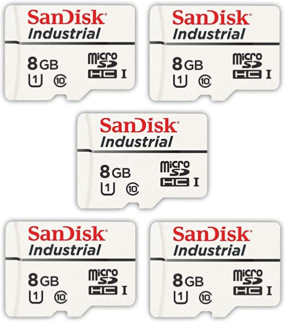 Sandisk Industrial 8gb Micro Sd Memory Card Class 10 Computers Accessories
