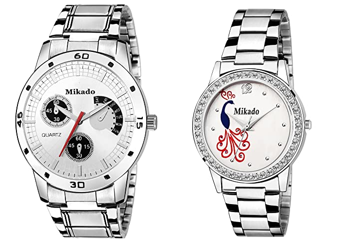 Mikado Special Designed Couple Watch for Men's and Women Watch - for Couple