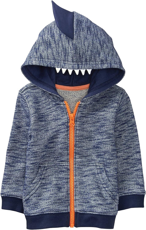 Gymboree Baby Boys Shark Tooth Hoodie