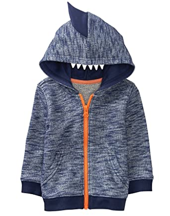 3169988281bb Amazon.com  Gymboree Baby Boys  Shark Tooth Hoodie  Clothing
