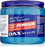 Dax Pommade super cheveux Light et le cuir chevelu traitement 400g