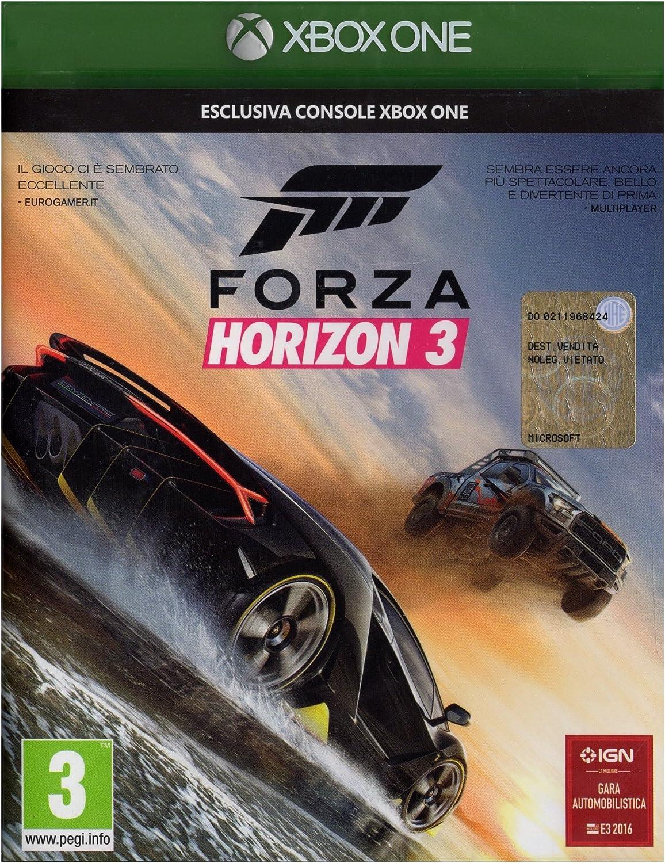 Microsoft Forza Horizon 3, Xbox One Básico Xbox One Inglés vídeo - Juego (Xbox One, Xbox One, Racing, Modo multijugador, E (para todos)): Amazon.es: Videojuegos