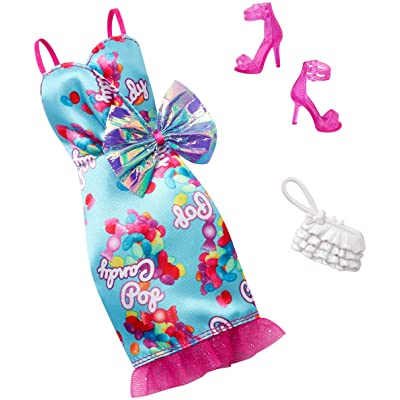 Barbie Complete Look Fashion Pack, Candy-Pop Gown: Toys & Games