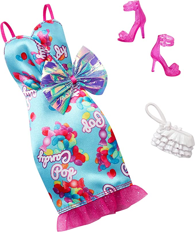 Amazon.es: Barbie Complete Look Fashion Pack, Candy-Pop Gown ...