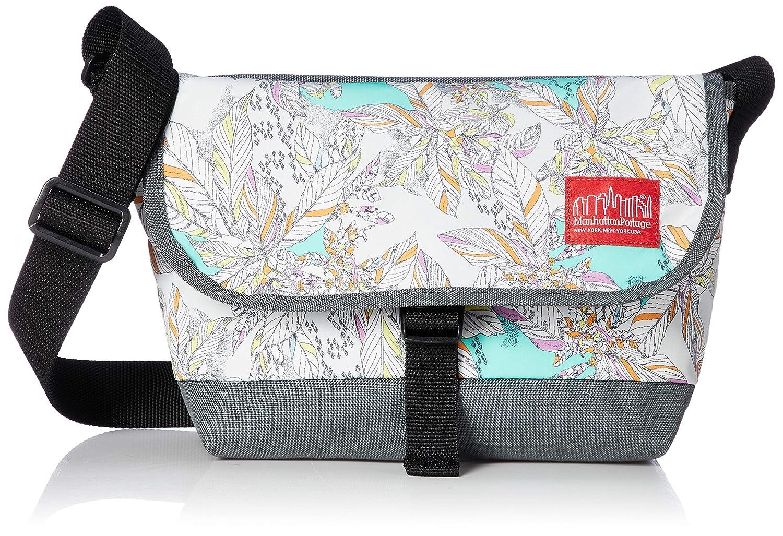 [マンハッタンポーテージ] メッセンジャーバッグ 公式 Liberty Fabric Casual Messenger Bag JR B07NS9H52R グリーン/グレー
