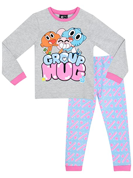 El asombroso mundo de Gumball - Pijama para niñas - The Amazing World of Gumball -