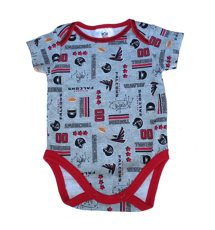 Amazon Atlanta Falcons Infant Size 0 3 Months esie Team Logo