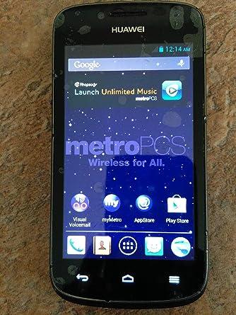 Huawei Vitria Y301-A2 4G LTE Metro PCS prepago sin Contrato ...