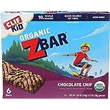 Clif Kid Zbar, Organic Energy Bars, Chocolate Chip, 1.27 Oz Bars, 6 Ct