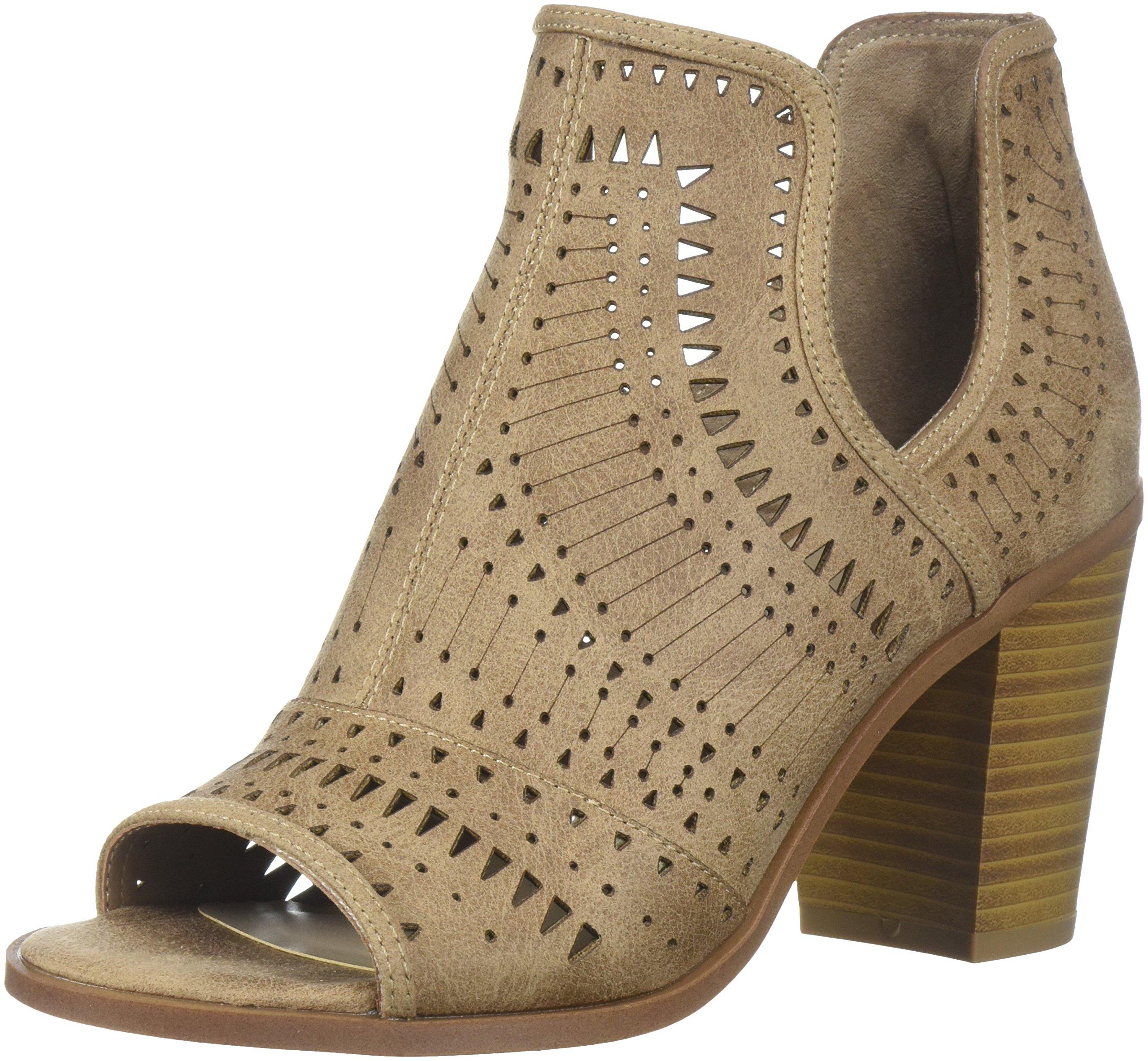 Fergalicious Women's Rattle Ankle Boot, Nude, 11 M US