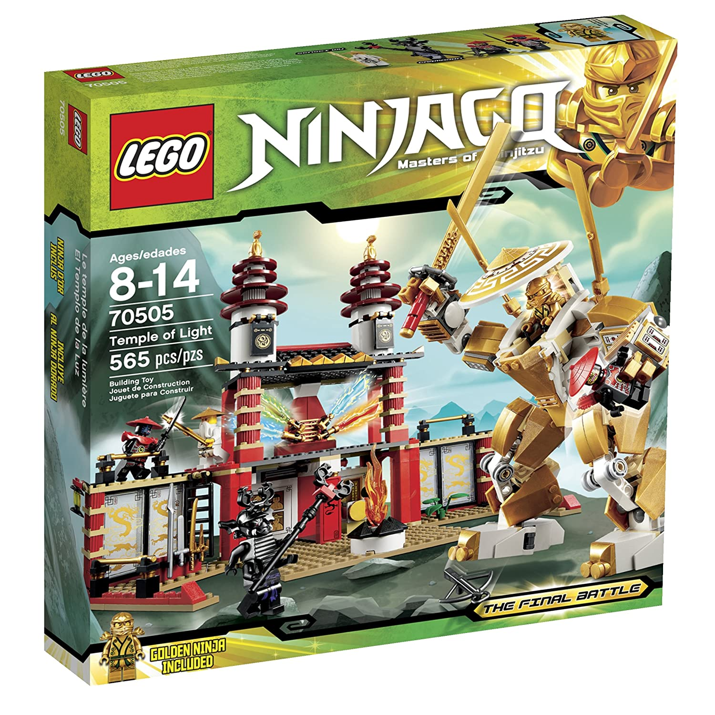 Amazon.com: LEGO Templo Ninjago de la Luz: Toys & Games