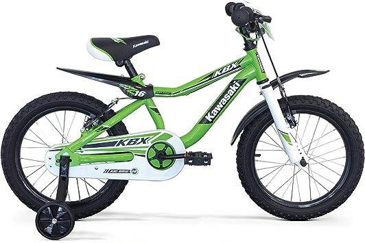 Kawasaki Bicicleta KLX, Niños, Verde, 12: Amazon.es: Deportes y ...
