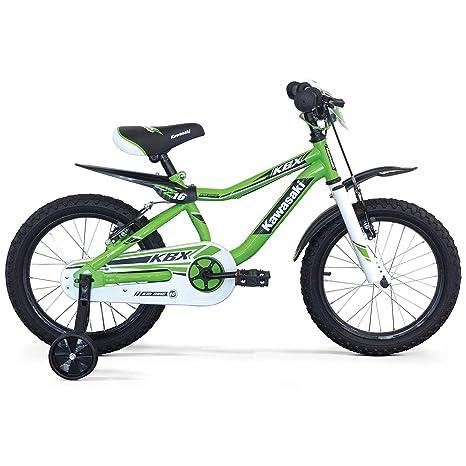 Bicicletta Bambino 14 4 5 6 7 Anni Kawasaki Kbx