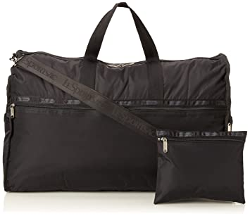 LeSportsac Extra Large Weekender Bag, Black, International Carry ...