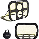 PodiuMax 2 in 1 Pop Up Soccer Goal, Portable Indoor/Outdoor Soccer Target Net with Carrying Bag, Best For Pickup/Scrimmage Game