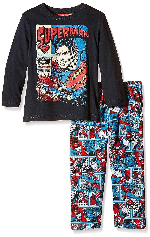 DC Comic Superman Comics, Pijama para Niños, Azul (Blue), Talla Fabricante: 3 años: Amazon.es: Ropa y accesorios