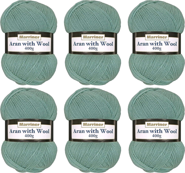 DY CHOICE Aran Knitting Yarn 100g With Wool 603 Multi Fleck