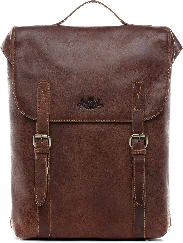 SID & VAIN® Mochila Eton Backpack portátil 15