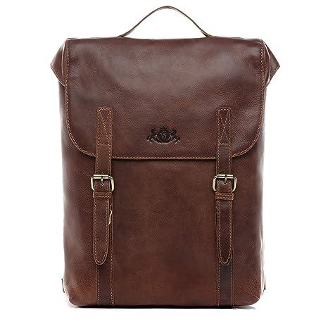 "SID & VAIN® Mochila Eton Backpack portátil 15,4"" Pulgadas Ordenador Bolso de"