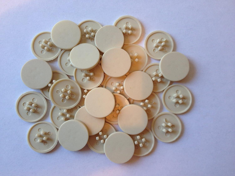 Hinge and Bracket Supplies Cam Beige 50 unidades de tapones embellecedores de plástico 18 mm de diámetro 3 mm de profundidad: Amazon.es: Bricolaje y ...