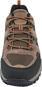 Northside Men/'s NEW Monroe Low Suede TPR Sole Hiking Boots Brown