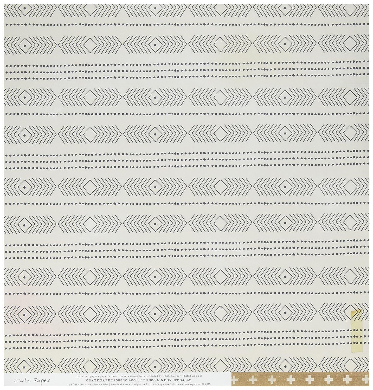 American Crafts 680309 Maggie Holmes Shine 両面カードストック (25枚入り) 12インチ x 12インチ ツインクル B016TI7ZPE