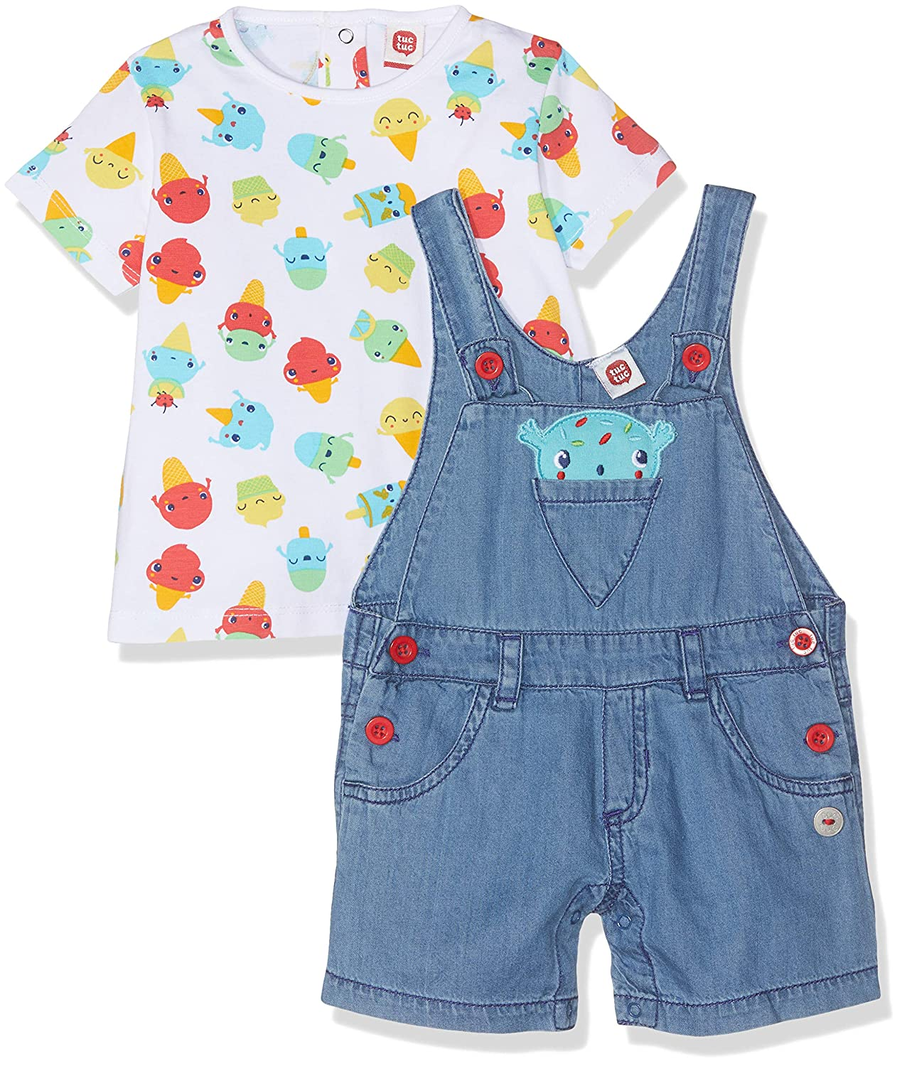 bda4cb3b2 Tuc Tuc Baby Boys' Dungarees: Amazon.co.uk: Clothing