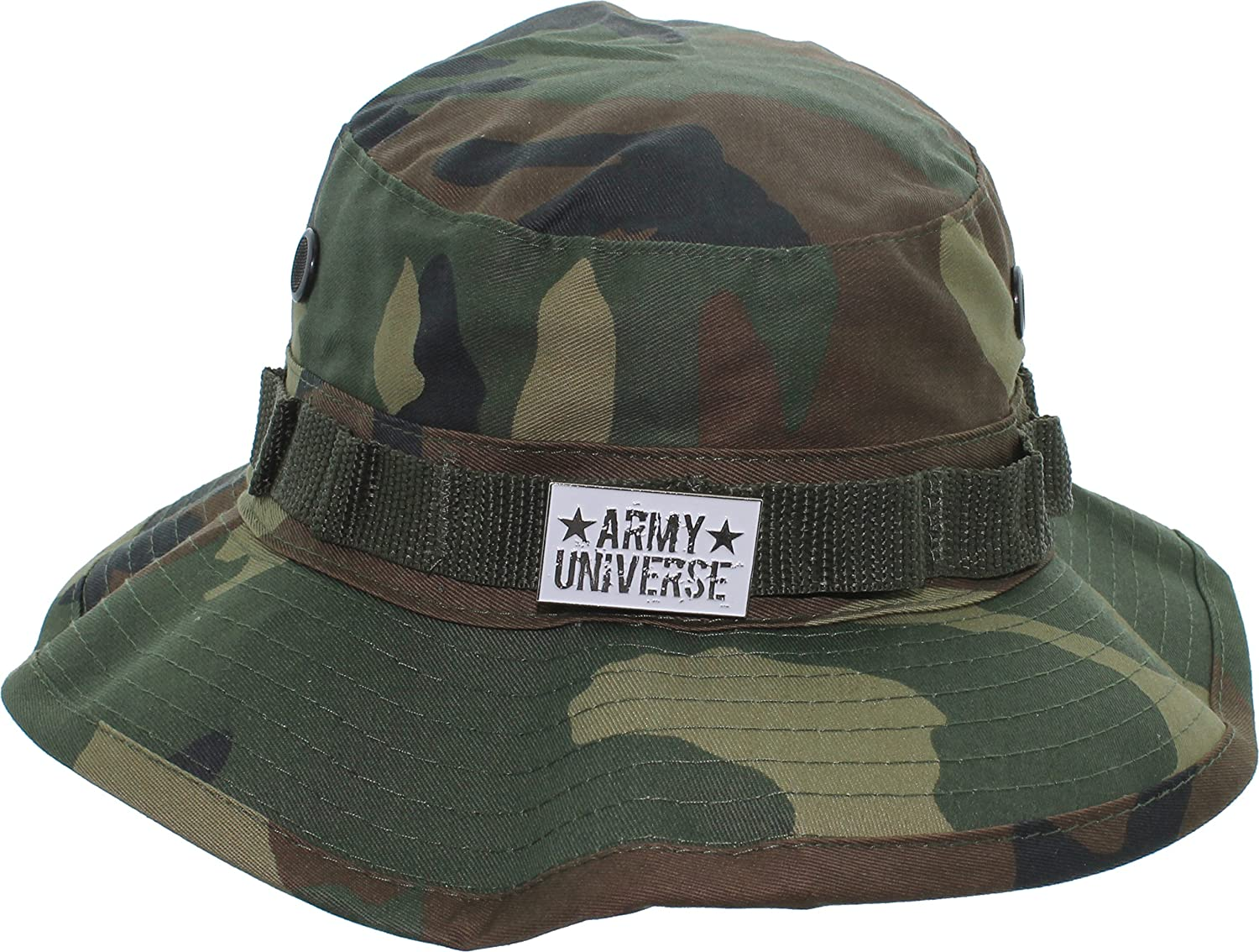 Army Universe Tactical Boonie Hat Military Camo Bucket Wide Brim Sun ... 1f4a89d900d