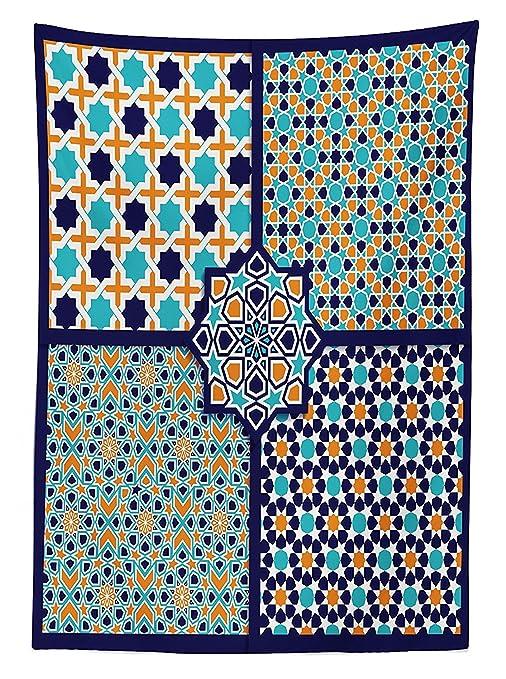 vipsung Mantel de decoración árabe con Diferentes Patrones de ...