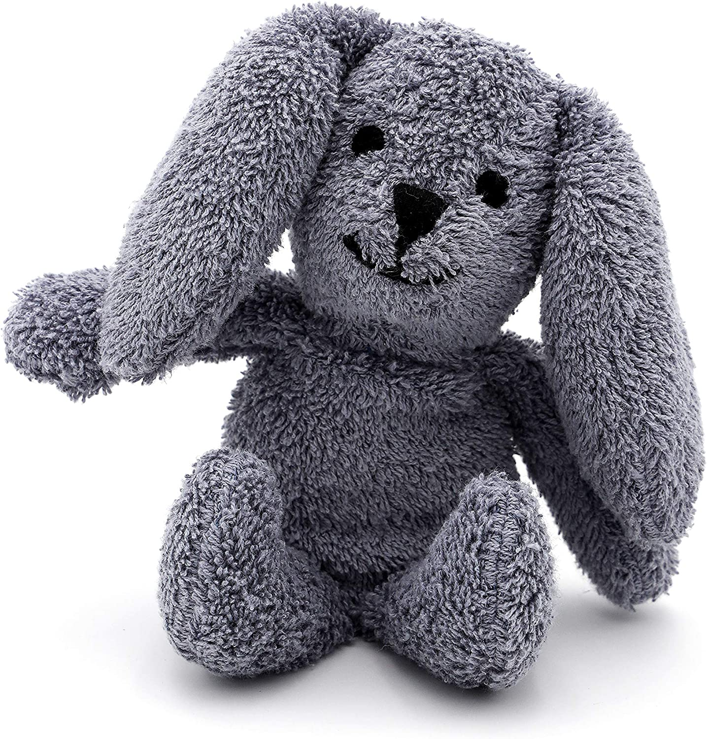 Thermal-Aid Zoo — Mini Baxter Bunny — Kids Hot and Cold Pain Relief Heating Pad Microwavable Stuffed Animal and Cooling Pad — Easy Wash, Natural Sleep Aid — Pregnancy Must-Haves for Baby First Aid Kit: Health & Personal Care