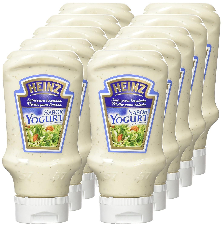 Heinz, Salsa de Aderezo Yogurt, 405 gr, Pack de 10: Amazon.es: Alimentación y bebidas