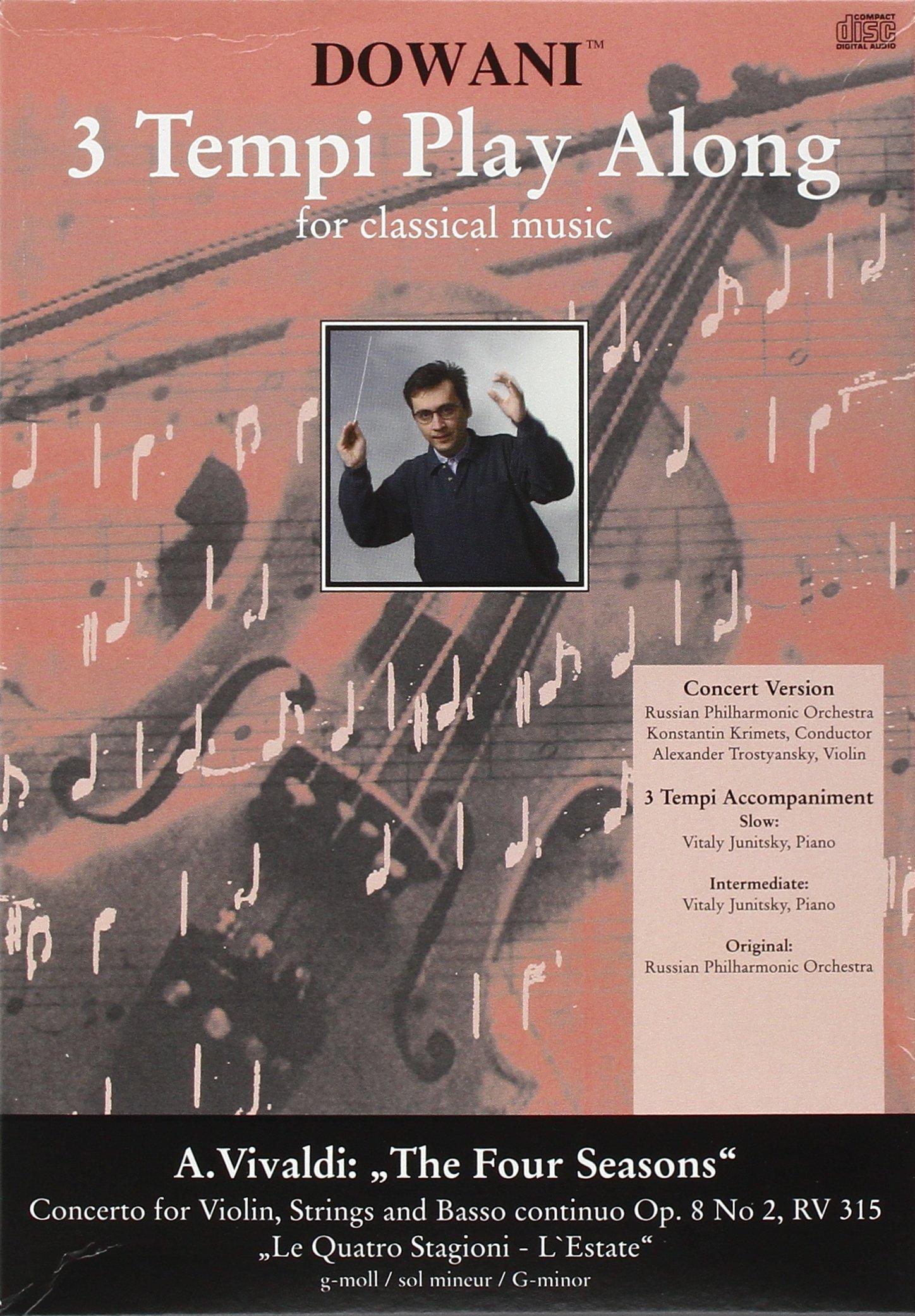 """Read Online Vivaldi - Concerto for Violin, Strings and Basso Continuo Op. 8 No 2, RV 297"""" Summer ebook"""