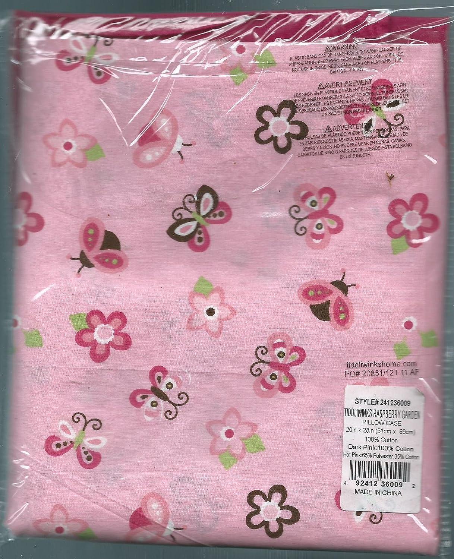 Amazon.com: Tiddliwinks Pink Raspberry Garden Butterfly Flower ...