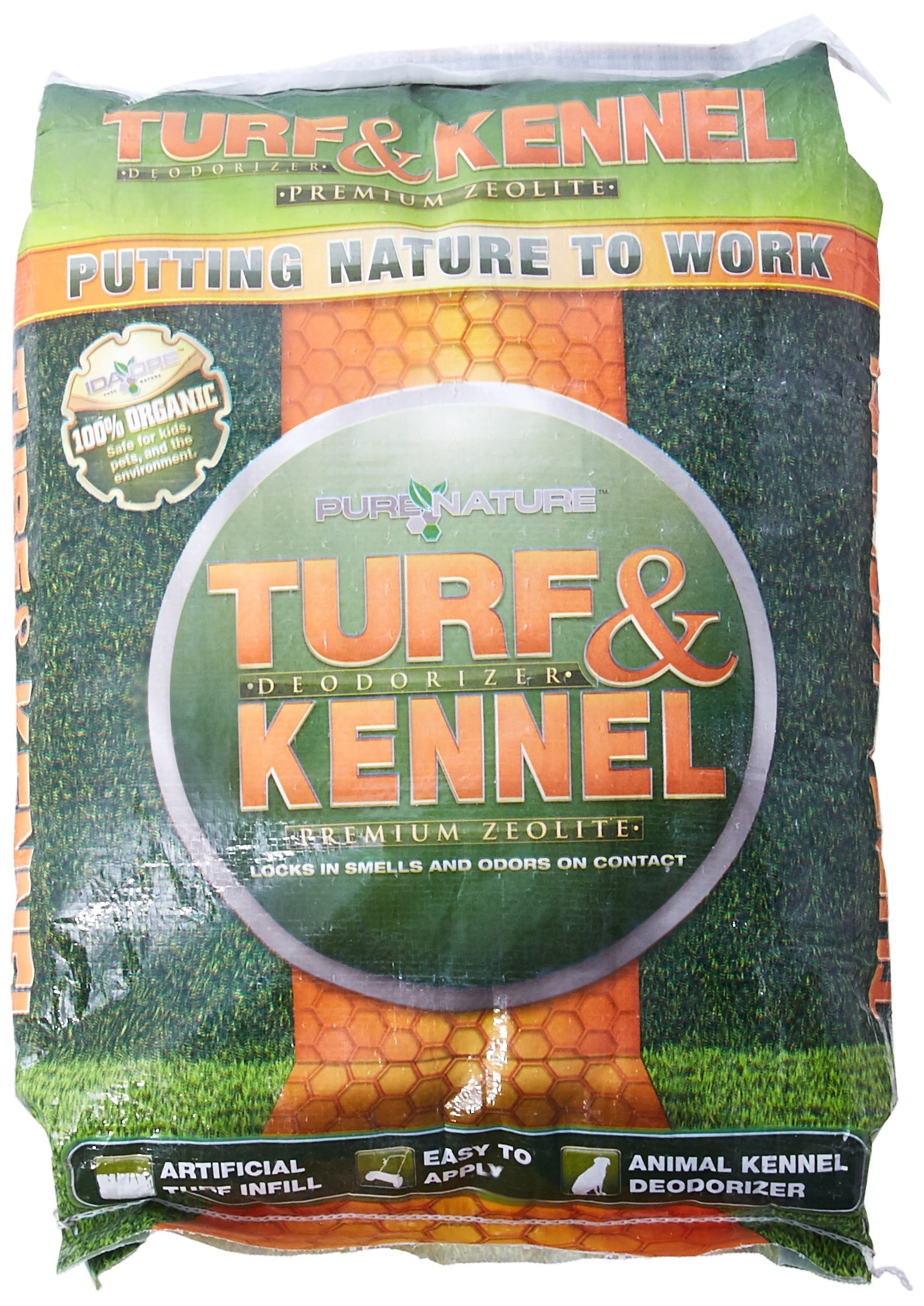 Pure Nature Pets Turf and Kennel Deodorizer, 25-Pound by Pure Nature Pets