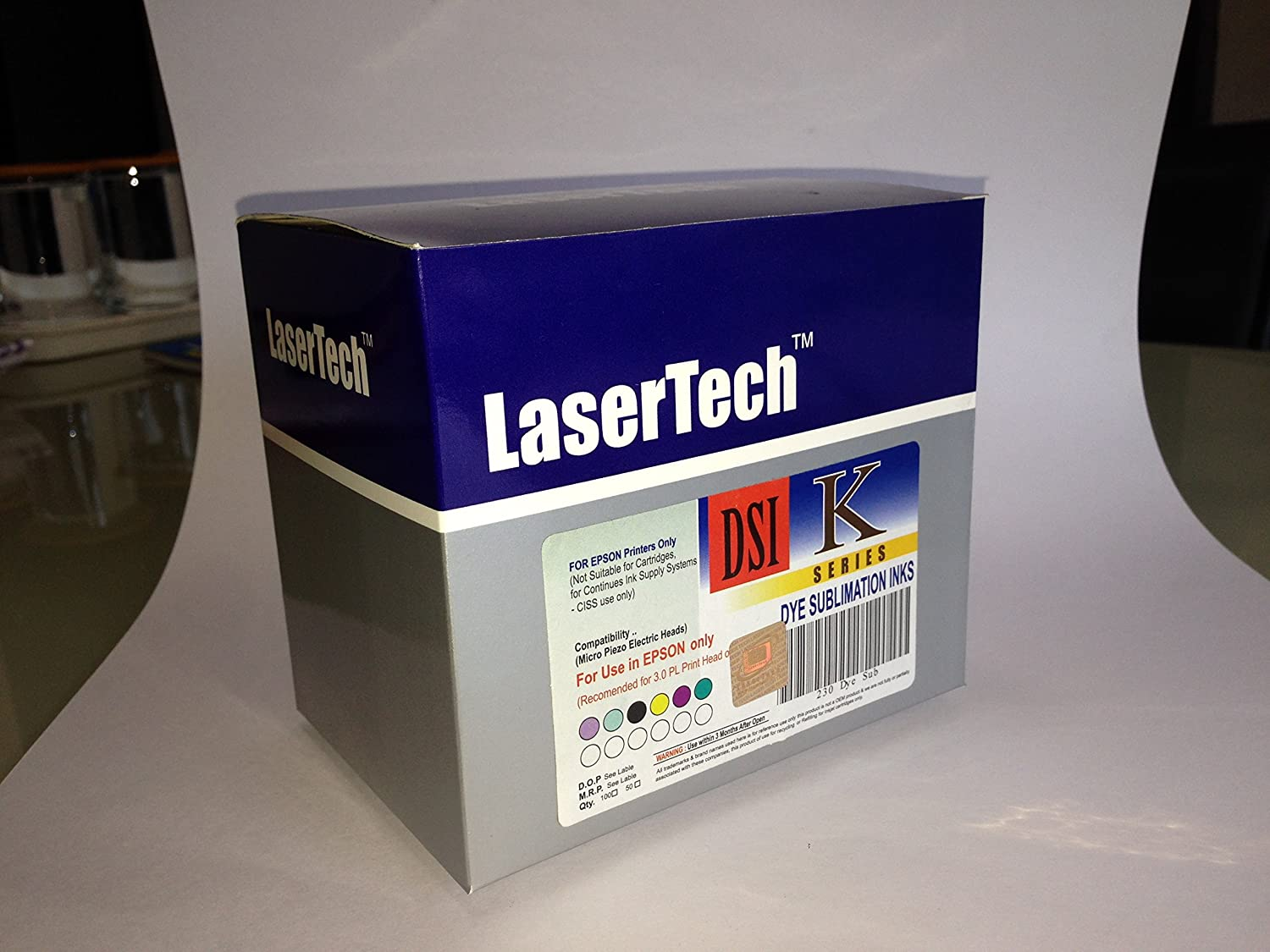 Buy Lasertech Sublimation Inks For Epson 6 Colour Print Head 1390 L1800 New Original Printers L110 L210 L1300 T60 600 Online At Low Prices In India