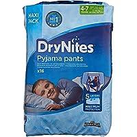 Huggies DryNites Calzoncillos Absorbentes para Niños, 4-7 Años