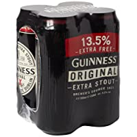 Guinness Original X-Fill, 4 x 500ml Cans