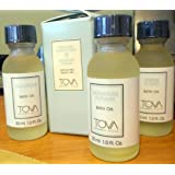 Tova Bath Oil Trio Signature, Signature Autumn, Ambre D'Oro Fragrance Gift Set 1oz EA