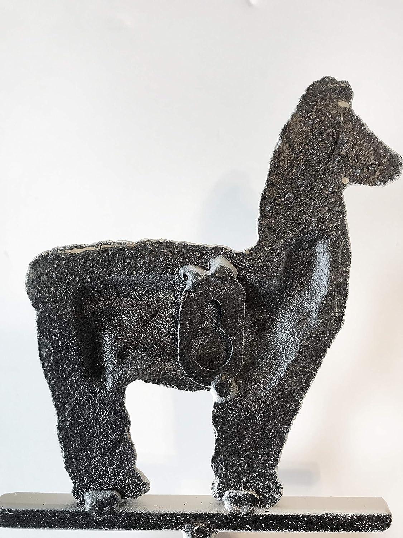 Cute Boho Teen Room D/écor Trendy Decorative Alpaca Storage Hanger for Keys Coat Towel Llama Wall Hook