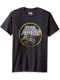 a99d6bce2d1 Star Wars Classic Logo and TIE Fighter Men s Short Sleeve T-Shirt