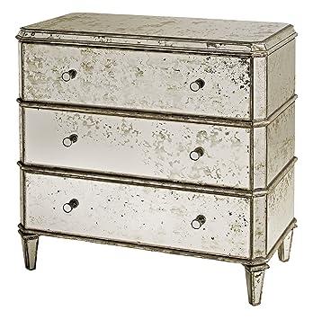 Amazon Hollywood Regency Antique Mirror Bedside Dresser