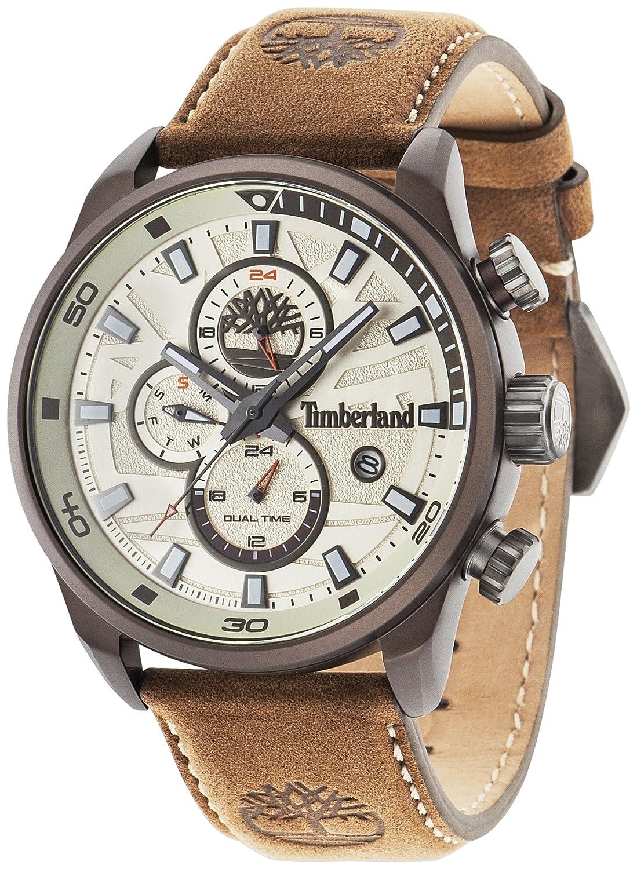 Timberland Herren-Armbanduhr Henniker II Analog Quarz 14816JLBN-07