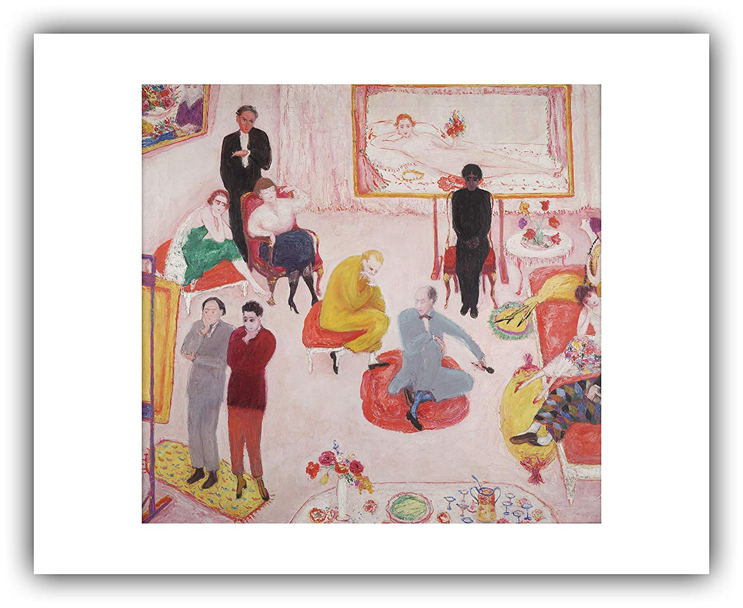 Amazon.com: The Ibis Print Gallery - Florine Stettheimer ...
