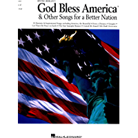 Irving Berlin's God Bless America & Other Songs for a Better Nation (Piano/Vocal/guitar Songbook) book cover
